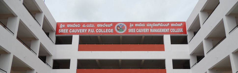 Sree Cauvery PU College has commenced in the year 1996. The college is bifurcated into – Sree Cauvery PU College and Sree Cauvery Management College. The college is named after...